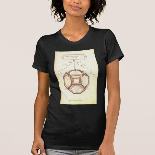 Octahedron de Leonardo da Vinci Camiseta