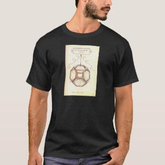 Octahedron de Leonardo da Vinci T-shirt