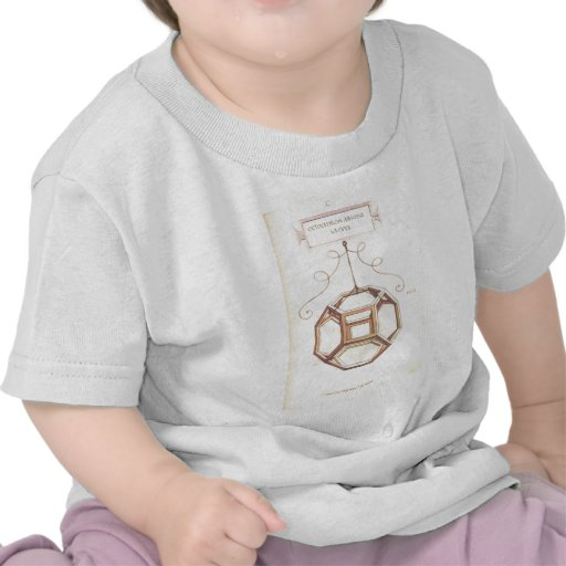 Octahedron de Leonardo da Vinci T-shirts