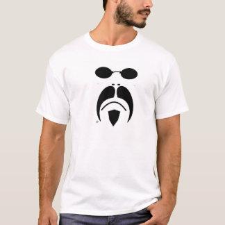 óculos de sol da matriz do Moustache do iRide Camiseta