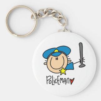 Ocupação do polícia chaveiro