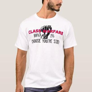 Ocupe a camisa dos por cento T da guerra de classe