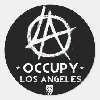 Ocupe a etiqueta de Los Angeles Adesivo