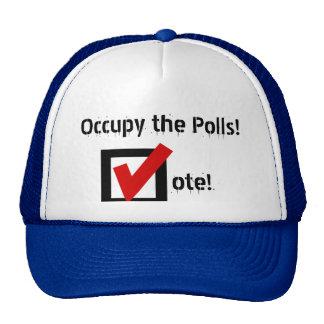 Ocupe as votações bone