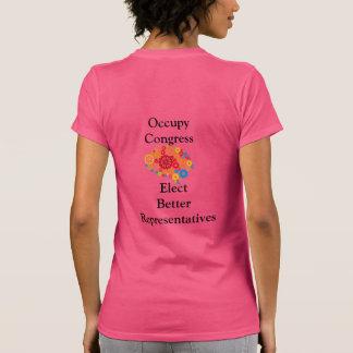 Ocupe o congresso t-shirts