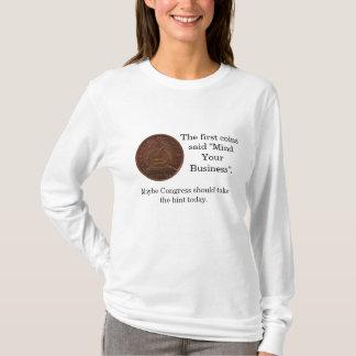 Ocupe-se de seu congresso do negócio camiseta