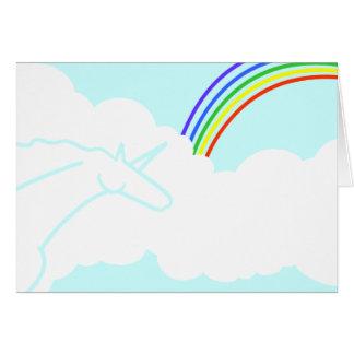 Ode ao cartão de aniversário dos arcos-íris & dos