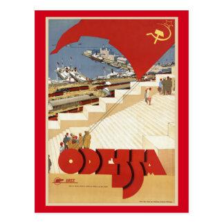 Odessa, Odesa, viagens vintage de Ucrânia Cartão Postal