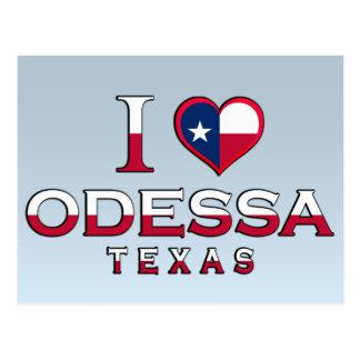 Odessa, Texas Cartão Postal