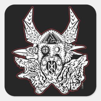 Odin - etiqueta do emblema