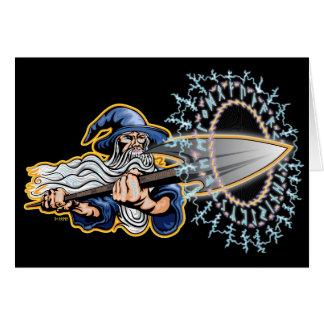 Odin - Runeblast - cartão