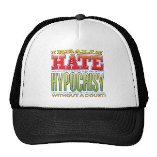 Ódio da hipocrisia boné