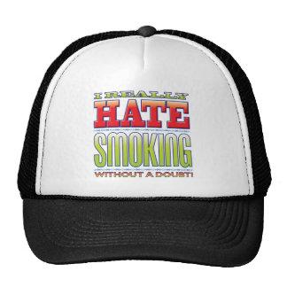 Ódio de fumo boné
