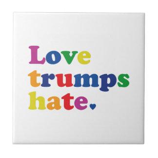 Ódio dos trunfos do amor de GLBT