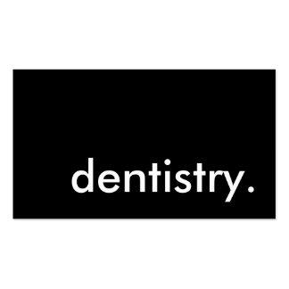 odontologia cartão de visita