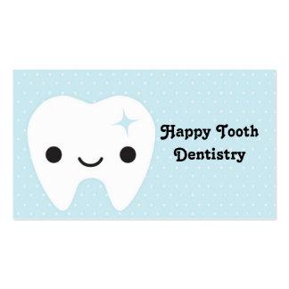 Odontologia, dentes, cartão de visita, bonito, div