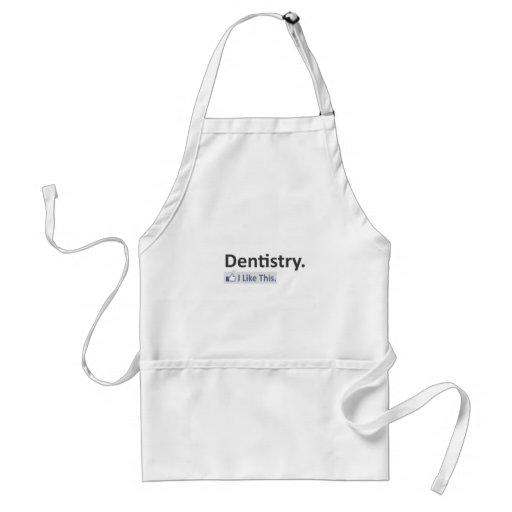 Odontologia… eu gosto deste avental