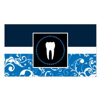 odontologia profissional: dente do damasco cartão de visita