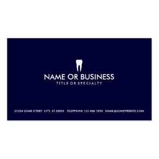odontologia simples cartões de visitas