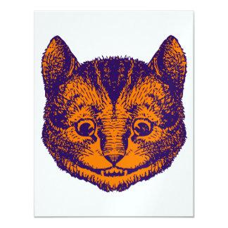 Oferta do baile de formatura do gato de Cheshire Convite 10.79 X 13.97cm