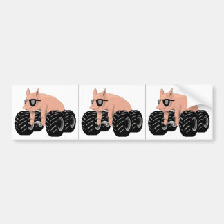 Offroaders Hedmark - etiqueta do branco de 3 porco Adesivo Para Carro
