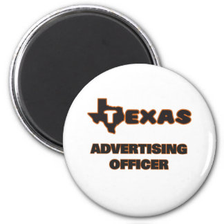 Oficial da propaganda de Texas Ímã Redondo 5.08cm