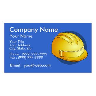 Ofícios da construção cartão de visita