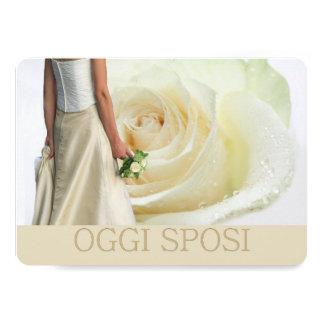 Oggi Sposi - convite italiano do casamento