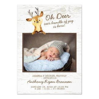 Oh anúncio do nascimento da foto dos bebés dos