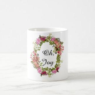 Oh, caneca de café da alegria