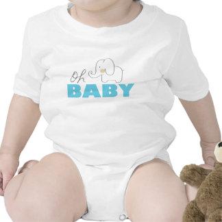 Oh elefante do bebê babadores