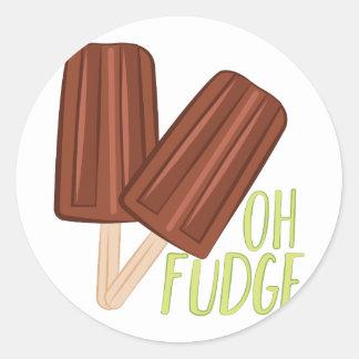 Oh Fudge Adesivo
