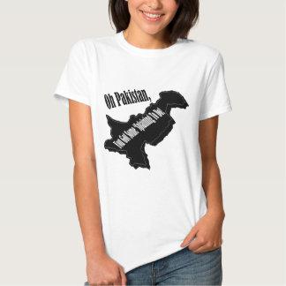 Oh Paquistão Camisetas