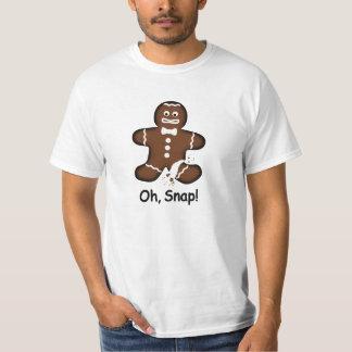 Oh, pressão! T-shirt Overdone do homem de Camiseta