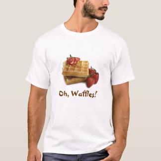 Oh, Waffles! Camisa dos heróis