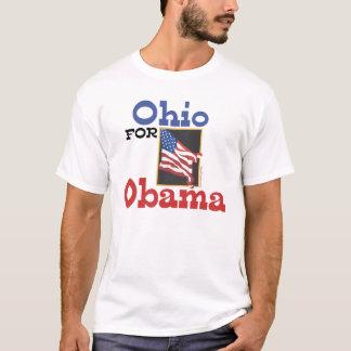 Ohio para a camiseta de Obama
