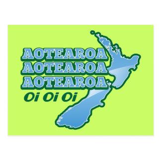 Oi do oi do oi de Aotearoa Aotearoa Aotearoa! do Cartão Postal