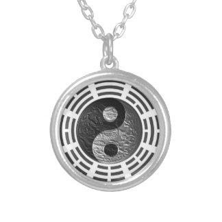 Oito Trigrams Yin Yang Gravar-Como o dragão Colares Personalizados