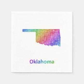 Oklahoma Guardanapo De Papel