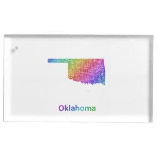 Oklahoma Suporte Para Cartão De Mesa