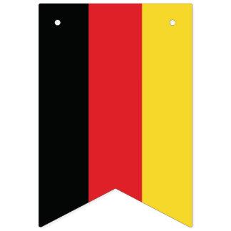 Oktoberfest. Bandeira de Alemanha