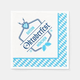 Oktoberfest Munich, guardanapo de Baviera