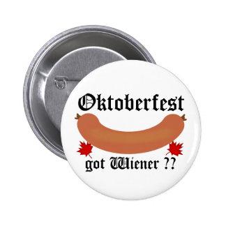 Oktoberfest obteve o Wiener? Botão Bóton Redondo 5.08cm