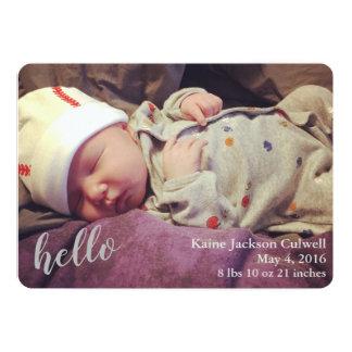 Olá!! Anúncio do nascimento
