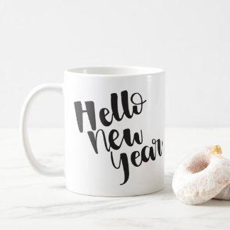 Olá! caneca do ano novo |