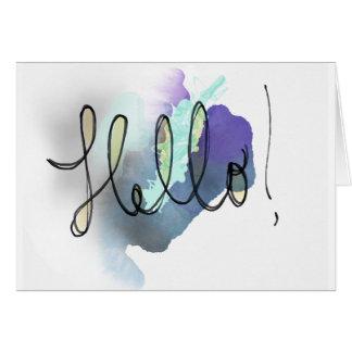 Olá!! - Cartão vazio