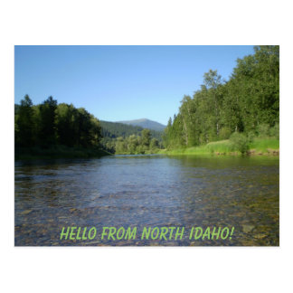 Olá! de Idaho norte! Cartão