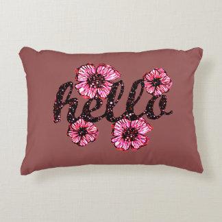 Olá! lá almofada decorativa
