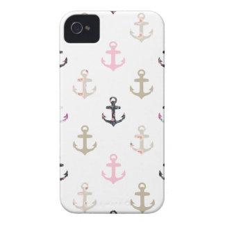 Olá! marinheiro! Âncoras náuticas femininos do Capa Para iPhone 4 Case-Mate
