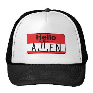 Olá!, meu nome é Allen Boné
